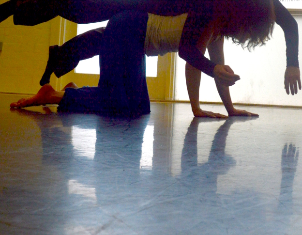 Dancing contact Improvisation at Oxford Contact Dance