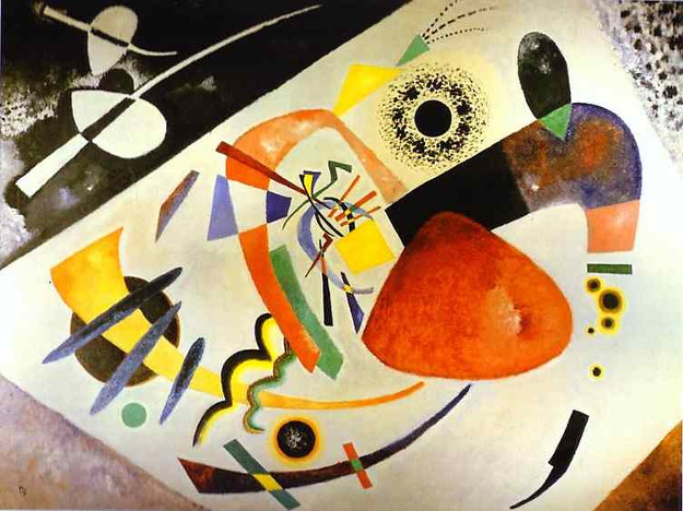 Photo of Wassily Kandinsky painting