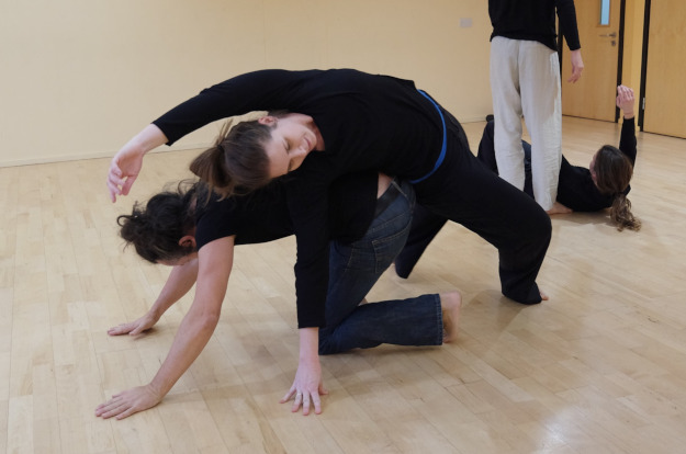 Enjoy dance with us and learn to dance contact improvisation