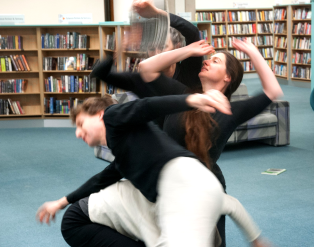Library Dance, Dec 2017