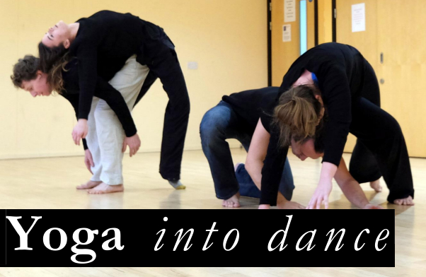 Join Yoga into dance and learn to dance contact improvisation with us